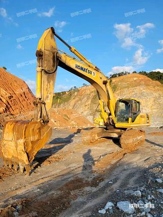肇慶小松PC350-7挖掘機實拍圖片
