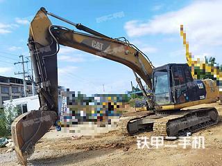 柳州卡特彼勒320D液压挖掘机实拍图片