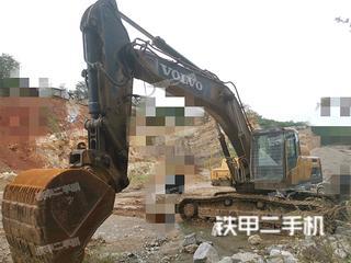 沃尔沃EC350DL挖掘机实拍图片
