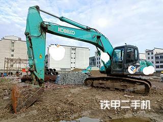 安徽-合肥市二手神钢SK200-8挖掘机实拍照片