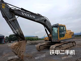 洛阳沃尔沃EC210BLC挖掘机实拍图片
