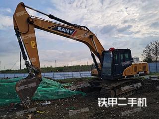 雅安三一重工SY200C挖掘机实拍图片