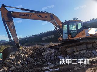 烟台三一重工SY215C挖掘机实拍图片