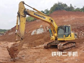 江西-萍乡市二手小松PC200-8M0挖掘机实拍照片