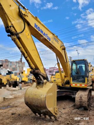 肇慶小松PC200-7挖掘機實拍圖片