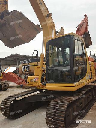 深圳小松PC120-6挖掘機實拍圖片