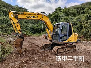 沃得重工W285-7挖掘机实拍图片