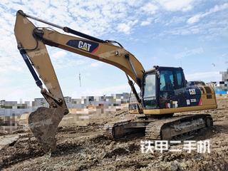 安徽-蚌埠市二手卡特彼勒323D2L挖掘机实拍照片