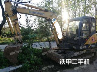 雅安柳工CLG907D挖掘机实拍图片