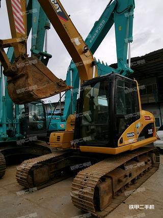 深圳卡特彼勒312C挖掘機實拍圖片
