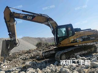 廊坊卡特彼勒324D挖掘机实拍图片