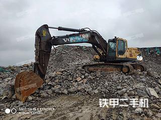 洛阳沃尔沃EC360BLC挖掘机实拍图片