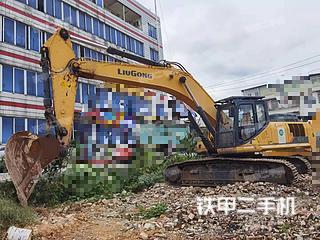 柳州柳工CLG939E挖掘机实拍图片