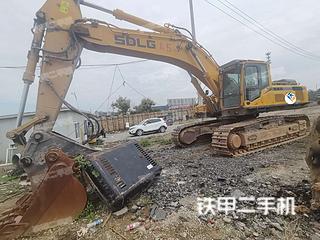 山东临工E6500F挖掘机实拍图片