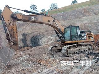 吉安卡特彼勒330D液压挖掘机实拍图片