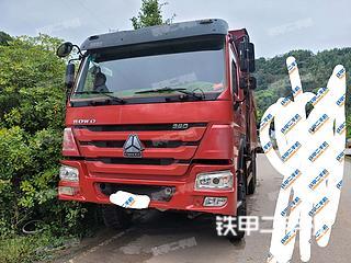 连云港中国重汽6X4工程自卸车实拍图片