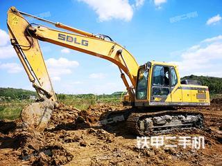 山东临工E6210F挖掘机实拍图片