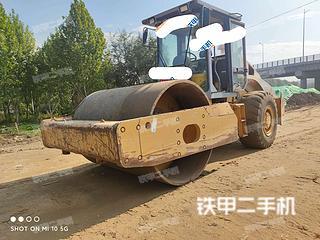 河北-廊坊市二手柳工CLG620A压路机实拍照片
