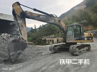 湖南-长沙市二手卡特彼勒323D液压挖掘机实拍照片