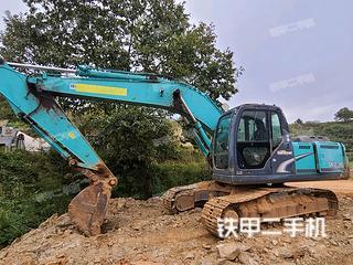湖南-岳阳市二手神钢SK200-8挖掘机实拍照片