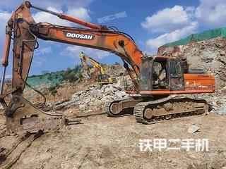 烟台斗山DX380LC挖掘机实拍图片