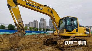 哈爾濱小松PC200-8M0挖掘機實拍圖片