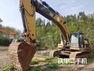 阳泉卡特彼勒336D液压挖掘机实拍图片