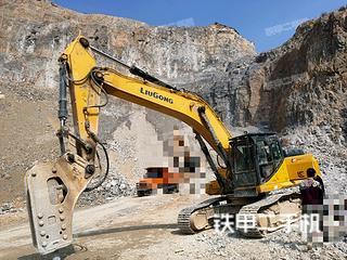 运城柳工CLG939E挖掘机实拍图片