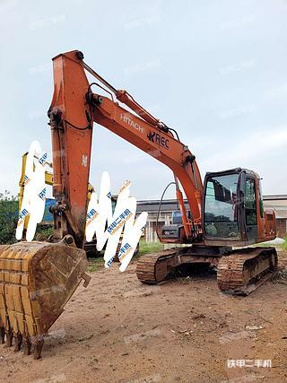 肇慶日立ZX120挖掘機實拍圖片