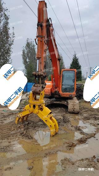 天津斗山DH150LC-7挖掘機實拍圖片