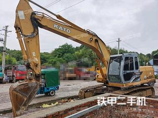 加藤HD820V挖掘机实拍图片