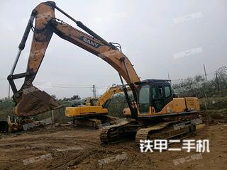 雅安三一重工SY365C挖掘机实拍图片