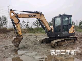金山三一重工SY60C挖掘机实拍图片