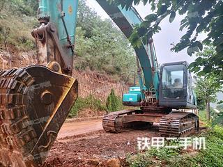神钢SK250-8挖掘机实拍图片