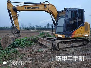 洛阳柳工CLG9075E挖掘机实拍图片