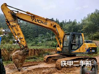 玉柴YC210LC-8挖掘机实拍图片