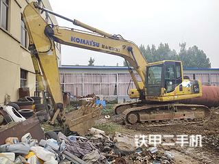 东营小松PC220-8挖掘机实拍图片