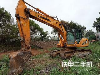 吉安龙工LG6215挖掘机实拍图片