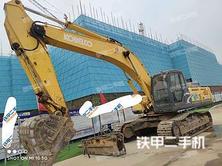 廊坊神钢SK330-8挖掘机实拍图片