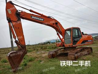 洛阳斗山DH225LC-7挖掘机实拍图片