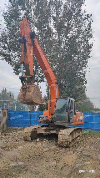 天津日立ZX210LC-HHE挖掘機實拍圖片