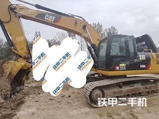 金山卡特彼勒326D2L液压挖掘机实拍图片