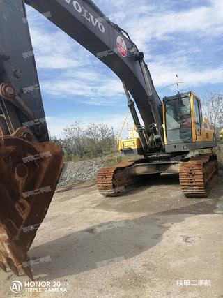 沃爾沃EC460BLC挖掘機實拍圖片