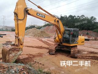 加藤HD820-R5挖掘机实拍图片