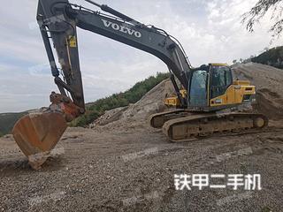 沃爾沃EC250DL挖掘機實拍圖片