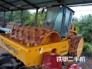江西-抚州市二手柳工CLG622L压路机实拍照片
