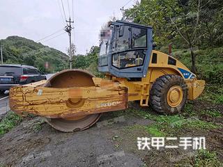 贵州-遵义市二手柳工CLG6120压路机实拍照片