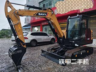 湖南-永州市二手三一重工SY60C挖掘机实拍照片