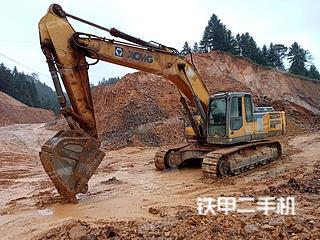 吉安徐工XE370CA挖掘机实拍图片