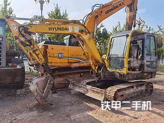 湖南-怀化市二手现代R60-7挖掘机实拍照片